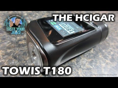 A PBusardo Review – The HCigar Towis T180